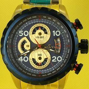 Invicta 48mm Aviator Quartz Chronograph Watch